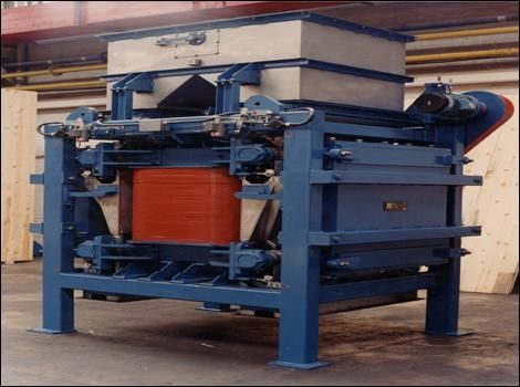 Induced Roll Separator-Bunting-Magnetic Separation-Mining-Aggregates-Minerals
