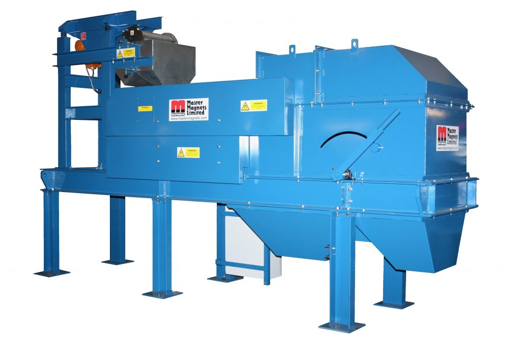 Heavy Duty Eddy Current Separator-Bunting-Magnetic Separation-Mining-Aggregates-Minerals