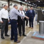 United States Congressman Ron Estes Visits Bunting-Newton