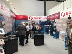 Booth Visitors-Bunting Trade Shows-Metal Detection-Magnetic Separation-Material Handling-Can Making-Printing-Newton